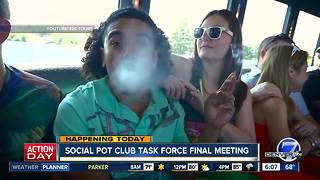 Denver's social cannabis task force meets Thursday - Video