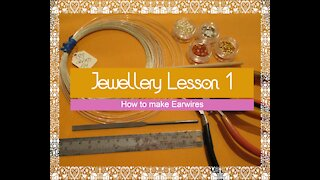 Jewellery Tutorial - How to make Earwires