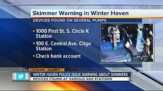 Skimmers found at multiple gas stations in Polk County - Video