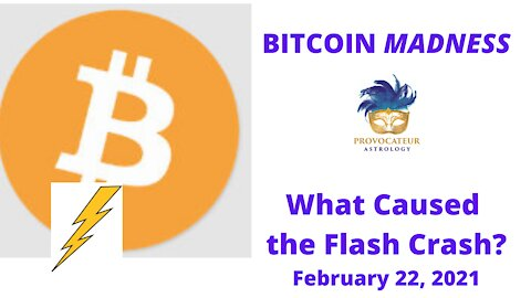 Bitcoin Madness - What Caused the Flash Crash?