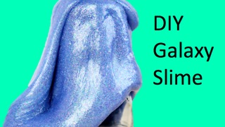 DIY Galaxy slime - Video
