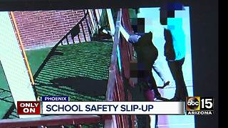 Woman upset with safety measures at Phoenix school