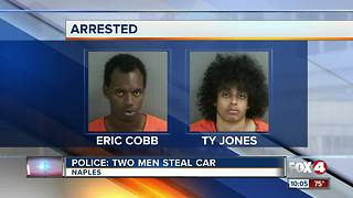 Police: Two Arrested for Occupying Stolen Car - Video