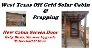 New Screen Door For The Off Grid Bug Out Cabin