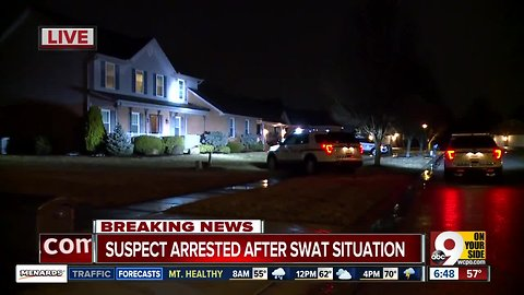 Police arrest suspect after Fairfield Township SWAT situation