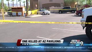 One person dead, one in custody at Arizona Pavilions shooting - Video