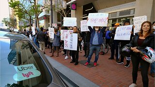 Uber drivers strike before IPO launch