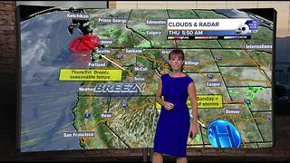 Sunshine and heat dominate the forecast heading into the weekend - Video