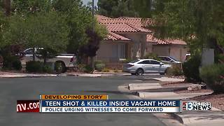 Henderson police looking for witnesses in teen's murder