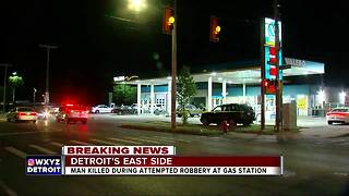 Man shot multiple times at Detroit gas station - Video
