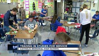 Local high school dedicates school day to helping others