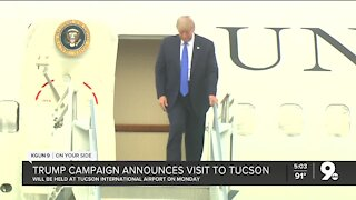President Trump to hold rally in Tucson Monday
