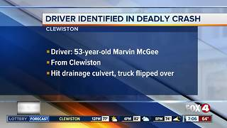 Victim identified in Clewiston crash - Video