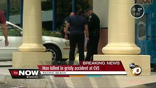 Man killed in accident at CVS in Pacific Beach - Video