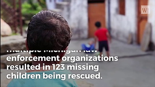 Police in One County Rescue 123 Missing Children in a Single Day - Video