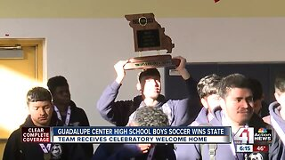 Guadalupe Centers High School soccer team wins state championship