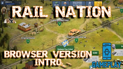 Rail Nation - Browser Game