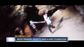 Local movie premiere benefits Make-A-Wish Foundation - Video
