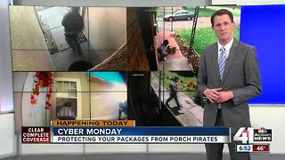Surveillance cameras may not be enough to protect your holiday deliveries - Video