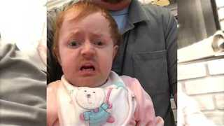 Hungover Baby Regrets Night Out - Video