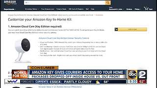 Amazon Key unlocks your door to delivery drivers - Video