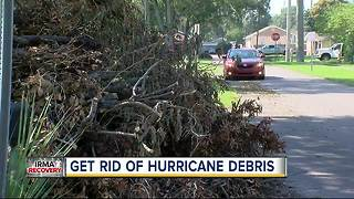 Tired of storm debris? Now you can get rid of it yourself... For free! - Video