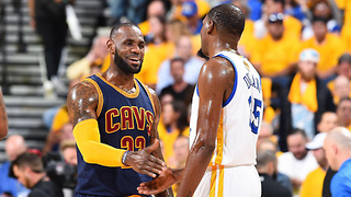 Kevin Durant and LeBron James Worked on a Rap Song Together - Video