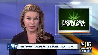 Big push to legalize marijuana in Arizona