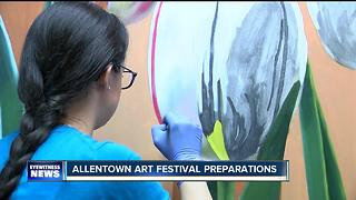 Grand Island artist prepares for Allentown Art Festival - Video