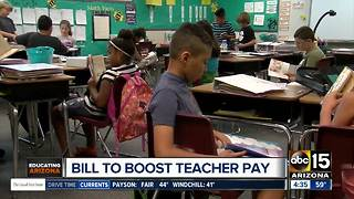 Is a raise on the way for teachers in Arizona? - Video