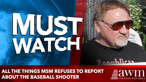 All The Things MSM Refuses to Report About The Baseball Shooter