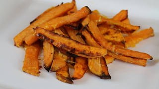 Sweet Potato Cheese Fries - Video