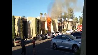 Viewer Video: Two apartments burn on eastside - Video