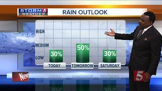 Lelan's Morning Forecast: Thursday, July 13, 2017 - Video