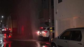 Vacations ruined after geyser floods condo units - Video
