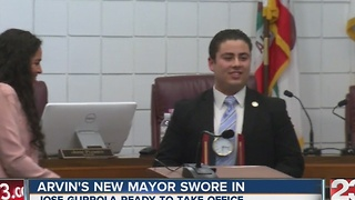 New Arvin mayor sworn in - Video