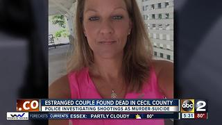 Deaths of husband and wife investigated as murder-suicide in Cecil County - Video