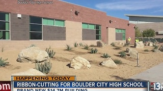 Boulder City High School unveils new building - Video