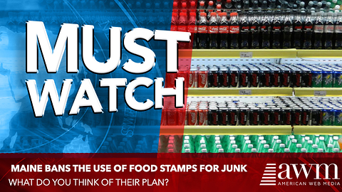 State To Pass Law Banning Of Buying Junk Food With Food Stamps. Do You Support This Law?