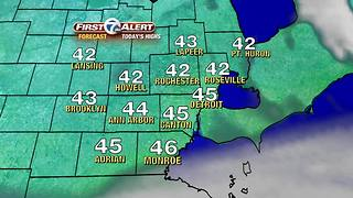 Dry and very mild Tuesday - Video