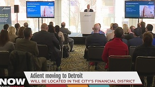 Adient moving downtown
