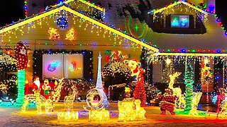 Top 3 Christmas light Displays Across America - Video