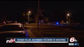 Woman killed, boyfriend wounded in shooting - Video