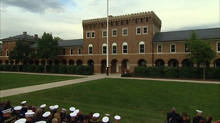 Marine Corps Ceremony for Sgt. Dakota Meyer%2C Medal of Honor Recipient - Video