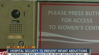 Hospital Security to prevent infant abductions - Video