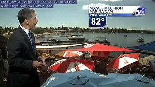 Scott Dorval's  On Your Side Forecast: Wednesday, July 18, 2017 - Video