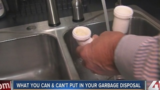 What you can and can't put in your garbage disposal - Video