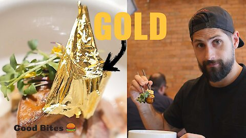 You can get a $100 dumpling made with a gold sheet in Montreal