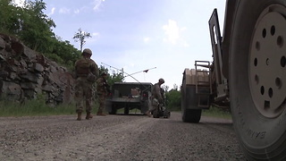 Vermont Army Guard Engineers Conduct Mounted Combat Patrols - Video