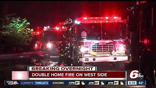 One man found dead after west side house fire - Video